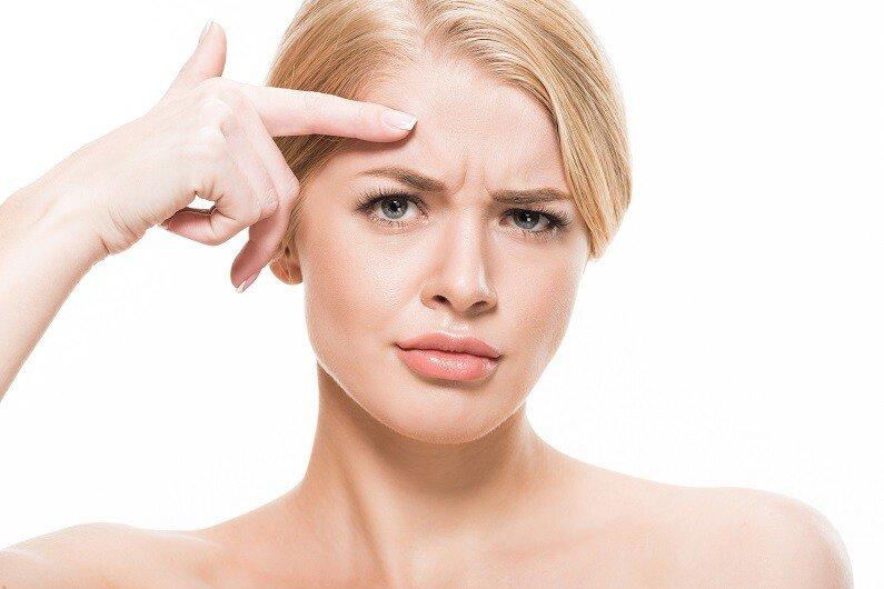 Stirnfalten behandeln mit Botox®