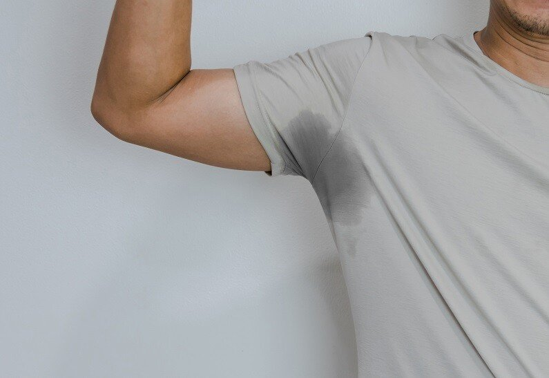 Starkes Schwitzen (Hyperhidrose) erkennen